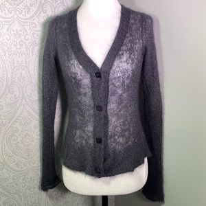 Anthropologie Charlie &Robin airy sparkle cardigan